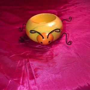 Super cute bug Yankee Candle tea light holder